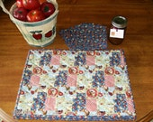 Country Kitchen Quilted Placemats, Napkins, Potholders and Tablerunner