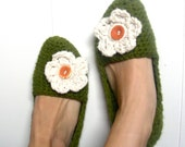 Alice Slippers-Evergreen/Snow