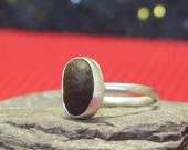 Coffee Bean Sterling Silver Ring