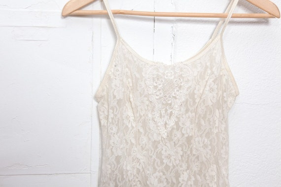 Ivory Lace Negligee