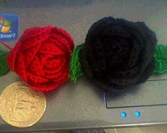 Pretty Crochet Rose PATTERN