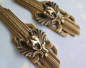 Guardian Gargoyle Gothic Art Deco Earrings