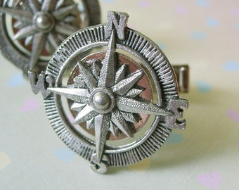 THE ORIGINAL Adventurer Compass Cuff Links