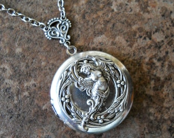 Heavenly Angel Locket EXCLUSIVE DESIGN Only From Enchanted Lockets