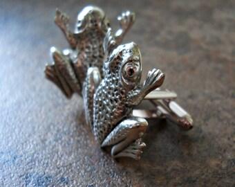 Steampunk Froggy Cuff Links