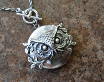 Owl King Woodland Locket EXCLUSIVE DESIGN Only by Enchanted Lockets