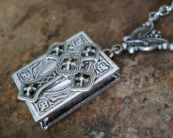 Holy Crucifix Locket, Exclusive Design by Enchanted Lockets