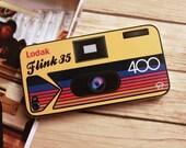 Lodak: iPhone 4 / 4S Vinyl Decal Skin with Retro Instant Camera Design