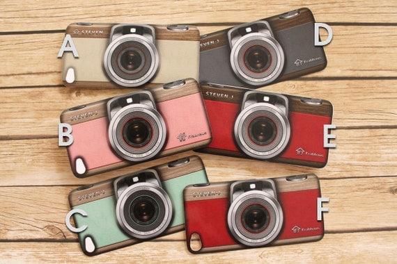 iPhone 5 / 4S / 4 Vintage Camera Case Design Vinyl Decal Skin