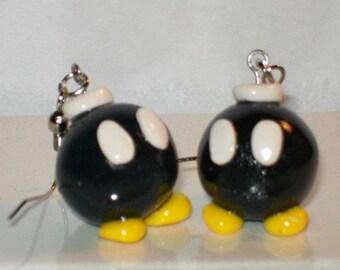 Bomb Guy Earrings