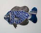 Bottle Cap Fish no. 28