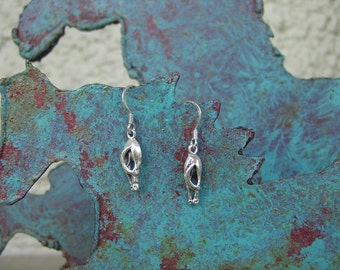 Back Side Horse Earrings,Equestrian Jewelry Horse Hip Earrings Sterling Silver,Horse Butt Earrings,Horse Backside