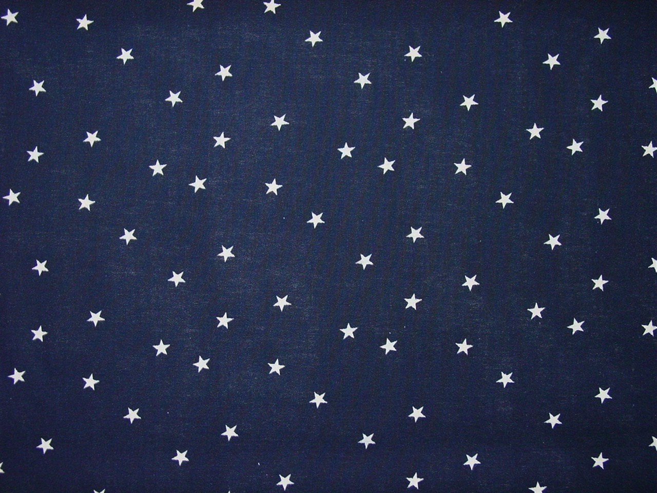 Custom Listing For Reece Navy Blue Fabric With Small Stars