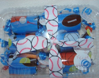 Sports Poppers Blue filled with Jolly Ranchers or candy of your choice