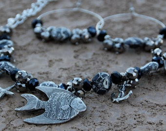 Necklace and Earring Set Seaside