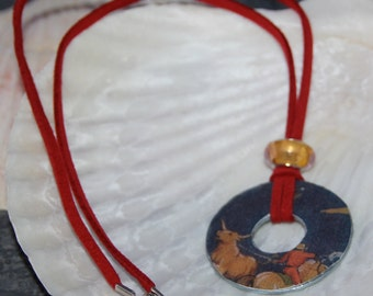 Washer Necklace Home on the Range Pring