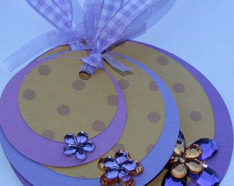Circle Gift Tags Set of 3
