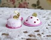 Vintage Miniature Sweets Cake Goodies Handmade