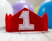 FEATURED in Parents Guide News: Boy/Girl Felt Birthday Crown