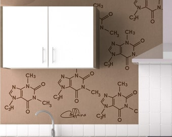 Party Molecules- Vinyl Wall Decal