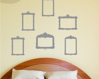 Frame This - Set of 6 - Vinyl Wall Decals