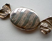 Vintage Sterling Silver Candy Pill Box Locket British 925