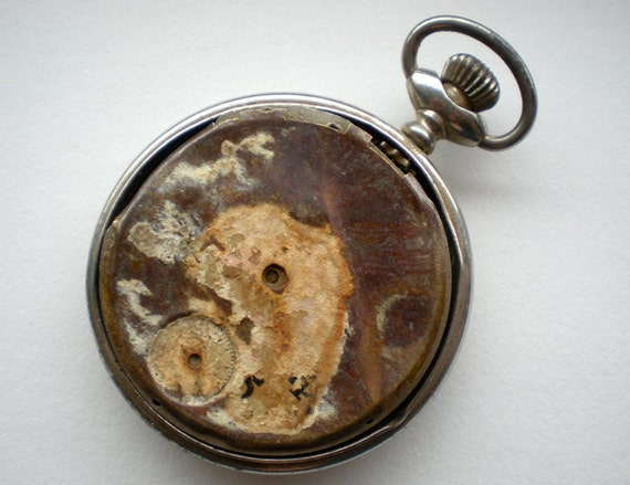Vintage Salvage Pocket Watch for Parts (D)
