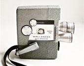 RESERVED for BRYAN Vintage 1958 Movie Camera, WOLLENSAK Model 73