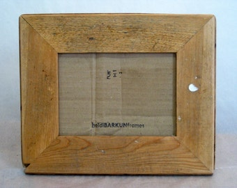 Reclaimed wood photo FRAME - Clark Collection (C18)
