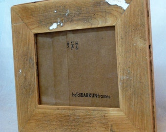 Reclaimed wood photo FRAME - Clark Collection (C25)