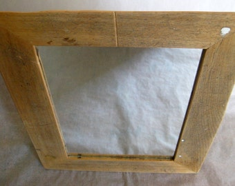 Reclaimed wood MIRROR - Clark Collection (C64)