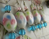 stitch markers floral vintage look