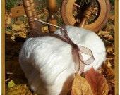 luxery fiber batt angora merino silk blend