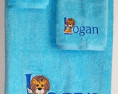 Embroidered & Personalized PRECIOUS 3 pc Bath Towel set