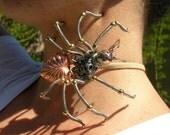 SALE - Steampunk SPIDER SCULPTURE Neo Victorian Jewelry