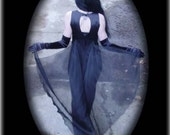 JUST REDUCED Clearance Sale-Dark Debutante Dress