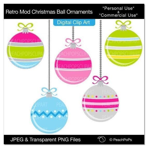 Items similar to clip art digital clipart modern pink blue ...