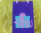 Pretty Pretty Princess gift bags, gift box OR goodie bags