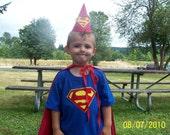 Superman Birthday T-Shirt customizable sizing