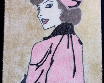 Shelley in Pink, The Luckiest Girl, Inspired by Beverly Cleary