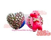 Sweet Crystal Heart  Contact Lenses Case - Reserved