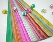 Gypsy Jewel Origami Lucky Star Paper Strips - Bundle of 80 strips
