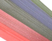 Midnight Glitter (5 colors) Origami Lucky Star Paper Strips - packs of 70 strips