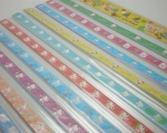 Kitty Origami Lucky Star Folding Paper (Part VI) - pack of 60-70 strips
