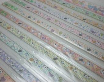Tarepanda Origami Lucky Star Folding Paper - pack of 60 strips