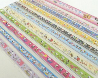 Charlie Brown Snoopy (Part II) Origami Lucky Star Folding Paper - pack of 70 strips