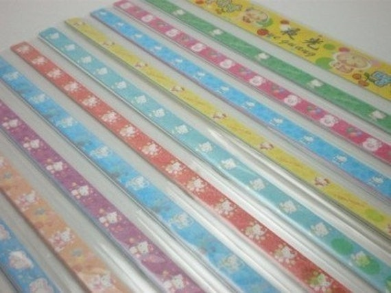 Kitty origami lucky star folding paper part vi pack of for Lucky star folding