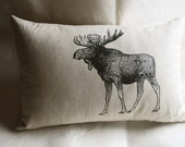 Canadian Moose Pillow - SparrowAvenue