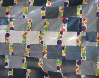 Dots and Denim Quilt