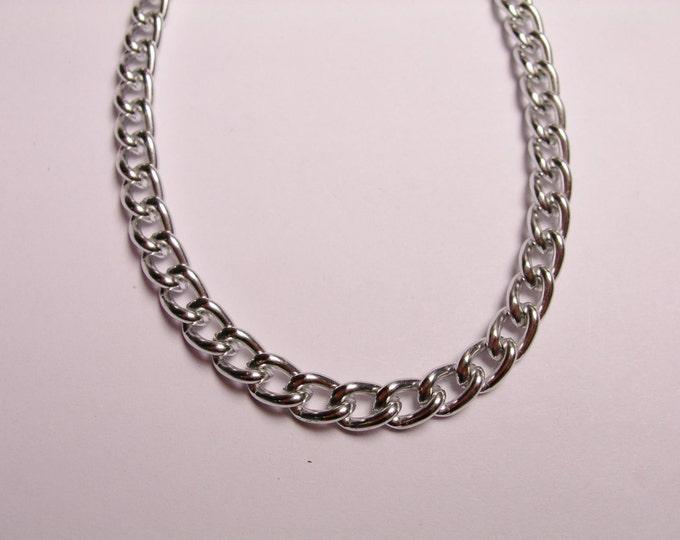 aluminium chain.always nickel free and lead free,very hypoallergenic,1 meter-3.3feet - CA 46